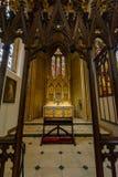 St.-Konfetti-Kathedralen-Innendame Chapel B Stockbild