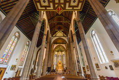 St.-Konfetti-Kathedralen-Innendecke Stockfotografie
