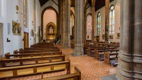 St.-Konfetti-Kathedralen-Innengang Lizenzfreie Stockfotos