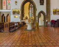 St.-Konfetti-Kathedralen-Innenguß Lizenzfreies Stockbild