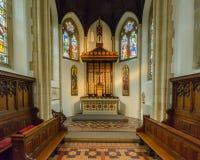 St.-Konfetti-Kathedralen-Innenst. Edward Chapel Stockfotografie
