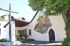 St. Korbinian im Thal church, Assling, Austria Stock Images