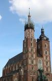 st krakow mary s церков Стоковые Фотографии RF