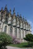 st kutna hora церков Барвары стоковое изображение rf