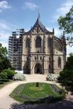 st kutna hora церков barbora стоковые изображения
