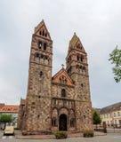St l'église de la foi, Selestat, Alsace, France photo libre de droits