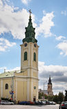 St Ladislaus kościół w Oradea Rumunia fotografia royalty free