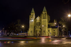 St. Lambert Church royalty-vrije stock afbeelding