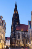 St. Lamberti Church in Muenster, Germany Royalty Free Stock Images