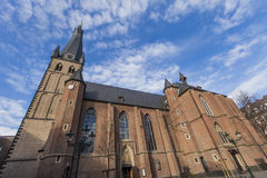 St. Lambertus church in Dusseldorf Stock Photos