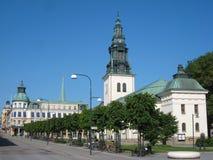 St Lars教会。林雪平。瑞典 免版税图库摄影