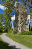 St Lars church ruin Sigtuna Stock Photo