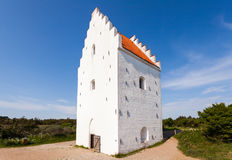 St Laurence Church in Skagen stock photo