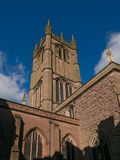 St Laurence Kerk, Ludlow Royalty-vrije Stock Foto's