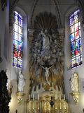 St Laurentius Church - Lokeren - Belgien Royaltyfria Bilder