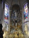 St Laurentius kościół Lokeren, Belgia - obrazy royalty free
