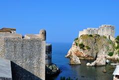 St Lawrance forteca i morze zdjęcie royalty free