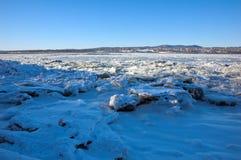 Ποταμός του ST Lawrence Στοκ Φωτογραφία