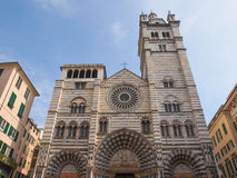 St Lawrence cathedral in Genoa Royalty Free Stock Image