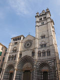 St Lawrence cathedral in Genoa Stock Images