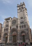 St Lawrence cathedral in Genoa Stock Photo