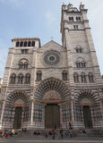 St Lawrence cathedral in Genoa Stock Photography