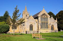St Lawrence Church, Evesham. Stock Photos