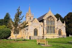 St Lawrence Church, Evesham. Stock Photos