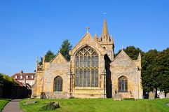 St Lawrence Church, Evesham. Stock Image