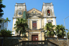St. Lawrence Church, Macao Royalty Free Stock Images