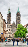 St. Lawrence church in Nuremberg Stock Photography