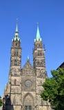 St Lawrence Church, Nuremberg. Stock Photos