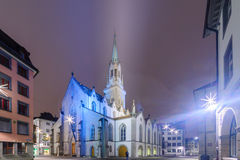 St. Lawrence Church in St. Gallen Royalty Free Stock Photography
