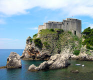 St. Lawrence Fortress, Dubrovnik, Croatia Stock Image