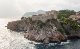 St. Lawrence fortress in Dubrovnik, Croatia Royalty Free Stock Image