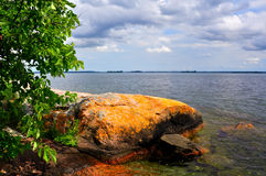 St Lawrence Islands National Park. Overlook St Lawrence river at St Lawrence Islands National Park Stock Photography