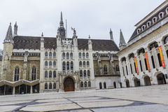 St Lawrence Jewry and Guildhall art gallery Stock Photo