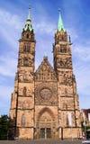 St Lawrence Kerk, Nuremberg royalty-vrije stock foto's