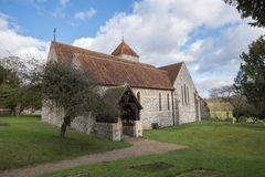 St Lawrence la iglesia del mártir Foto de archivo