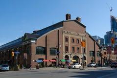 St. Lawrence Market i Toronto Arkivfoton