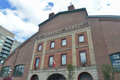 St Lawrence Market - Toronto, Canadá Fotografia de Stock