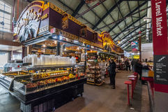 St Lawrence marknad - i stadens centrum Toronto Arkivbild