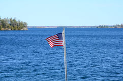 St Lawrence river in canada. St Lawrence river in Thousand Islands Region, canada Stock Photos