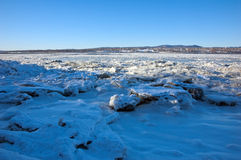 St. Lawrence rivier Stock Fotografie