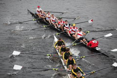 St. Lawrence University and Charleston Crew Royalty Free Stock Photography
