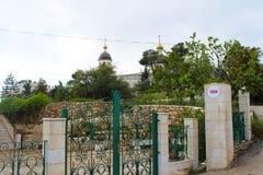 St Lazarus Church, la tumba de Lazarus, situada en la ciudad de Cisjordania del al-Eizariya, Bethany, cerca de Jerusalén imagen de archivo