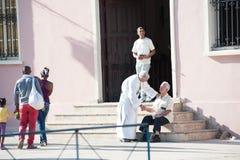 St Lazarus pilgrimage stock photography