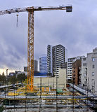 St Leon Pan del sito della costruzione di Sy Immagini Stock