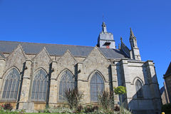 St Leonard Church, Fougeres Stock Photography