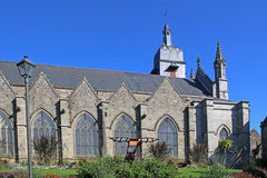 St Leonard church, Fougeres Stock Photos